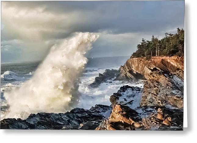 Shore Acres 17 Greeting Card by Kenneth Haley
