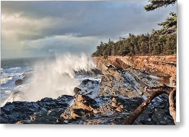 Shore Acres 18 Greeting Card by Kenneth Haley