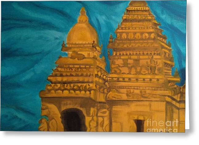 Shore Temple Greeting Card