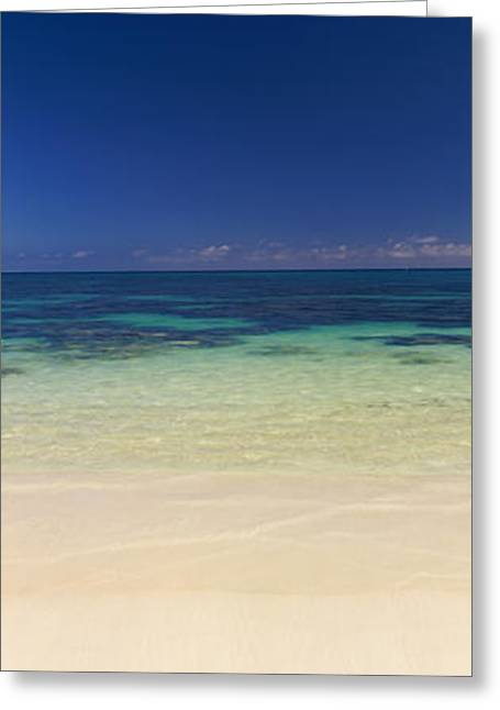 Shoreline, Oahu, Hawaii, Usa Greeting Card by Panoramic Images