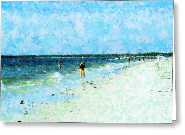 Shoreline Pleasures Greeting Card