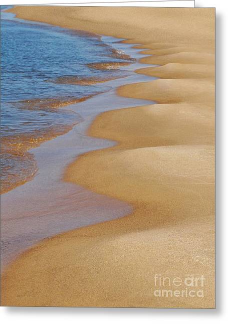 Shoreline Wavy Greeting Card