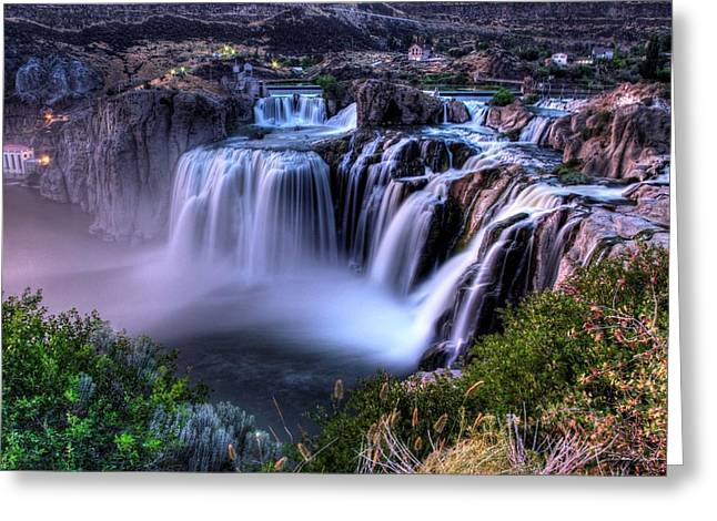 Shoshone Falls Greeting Card