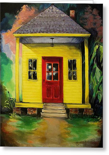 Shotgun House Greeting Card