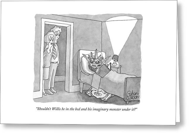 Shouldn't Willis Be In The Bed And His Imaginary Greeting Card
