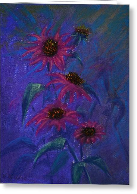 Show Off Greeting Card by Kathleen Keller