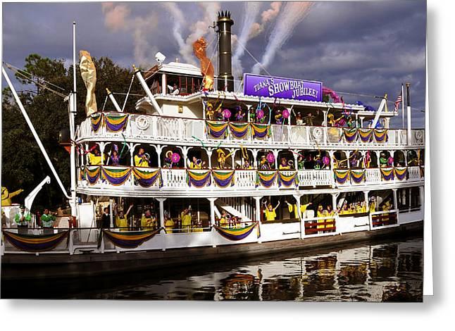 Showboat Jubilee Greeting Card