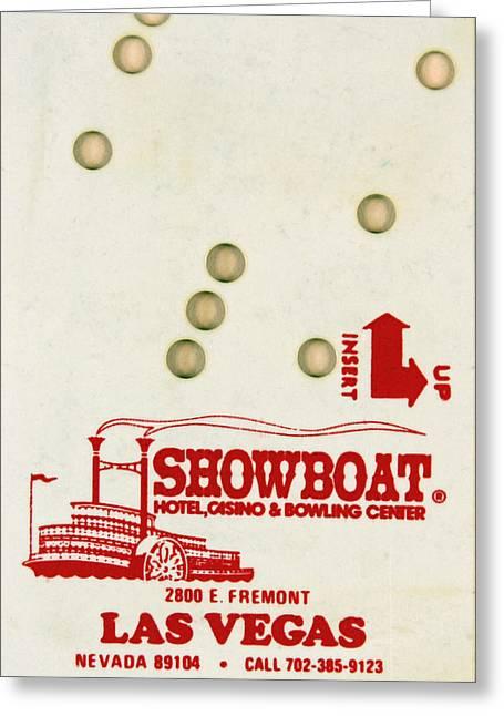 Showboat Key Greeting Card by Douglas Settle