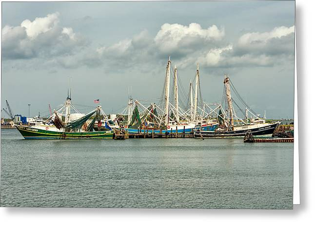 Shrimpers Greeting Card