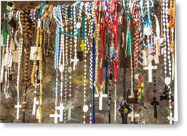 Shrine At Chimayo New Mexico Greeting Card by Steven Bateson