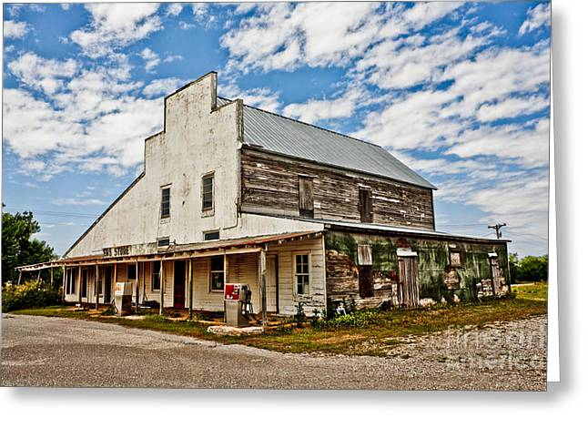 Shriver's General Store Greeting Card by Pattie Calfy