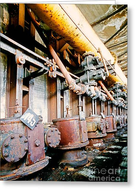 Shutdown Old Coking Plant Greeting Card by Stephan Pietzko