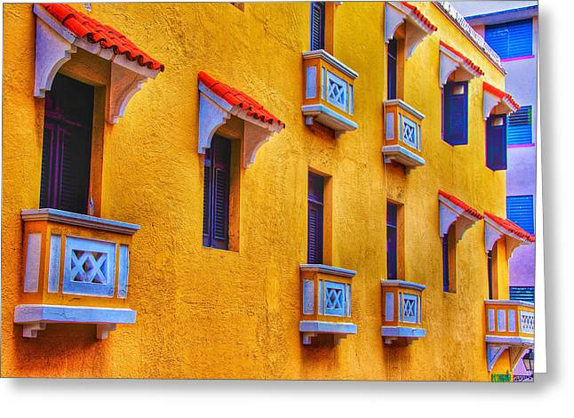 Shutters Greeting Card by Kathi Isserman