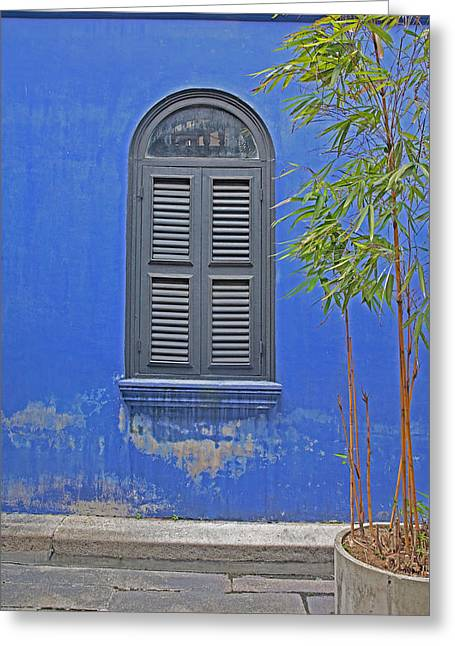 Shutters Penang Greeting Card