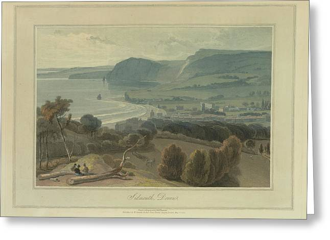Sidmouth Greeting Card by British Library