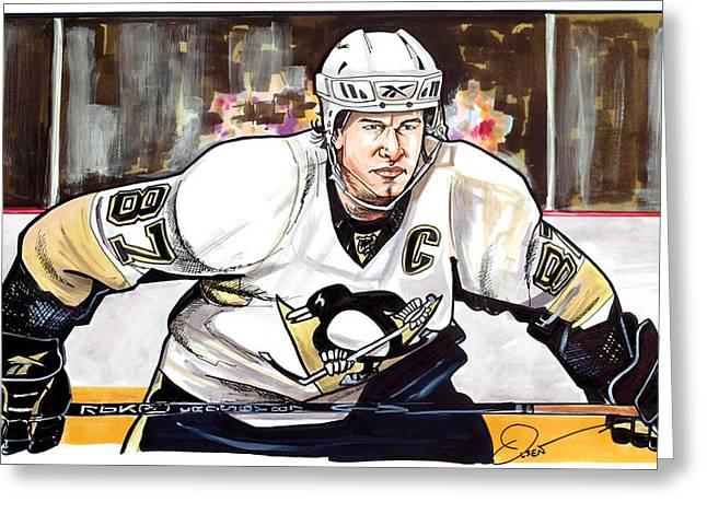 Sidney Crosby Greeting Card