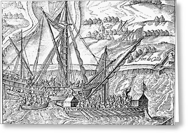 Siege Of Antwerp, 1585 Greeting Card by Granger