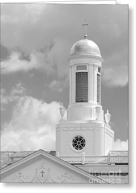 Siena College Siena Hall Cupola Greeting Card by University Icons