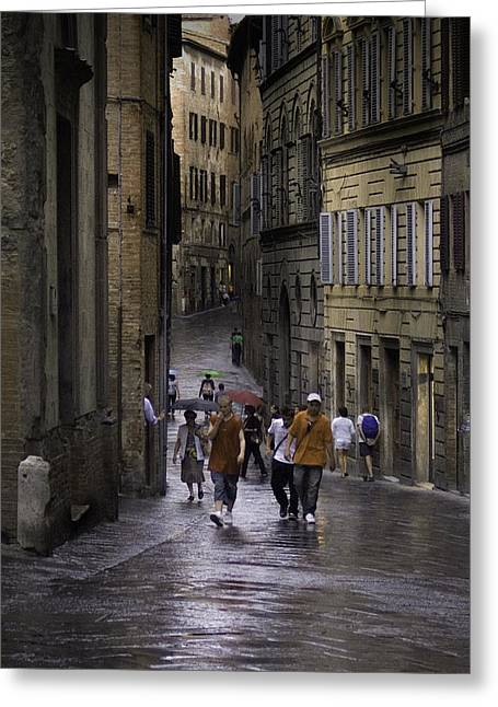 Siena Rain Greeting Card