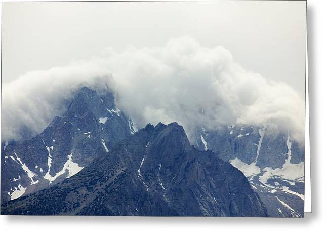 Sierra Clouds Greeting Card