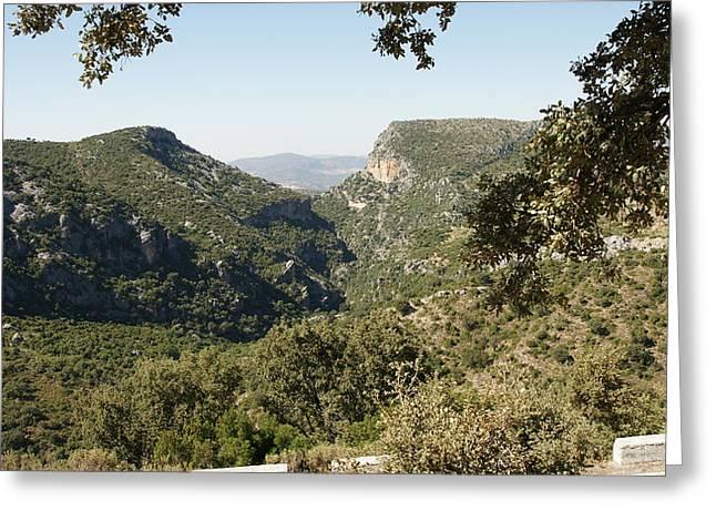 Sierra De Grazalema Greeting Card