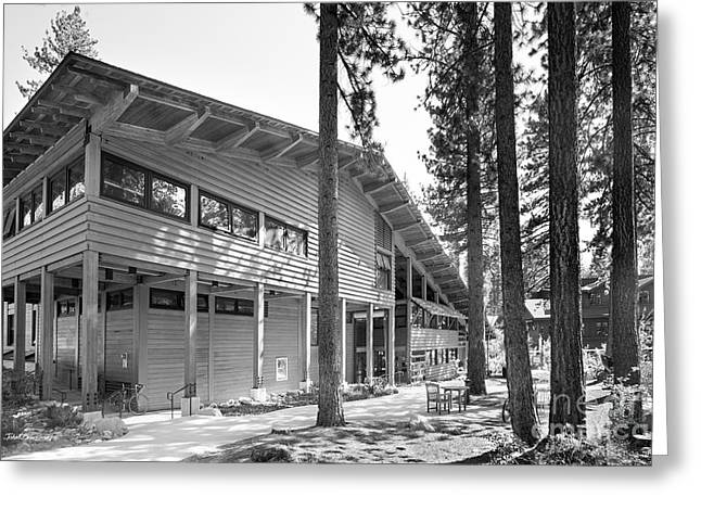 Sierra Nevada College - Prim Library Greeting Card by University Icons