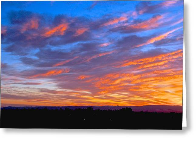 Sierra Nevada Sunrise Greeting Card by Eric Tressler