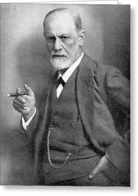 Sigmund Freud Greeting Card by Universal History Archive/uig