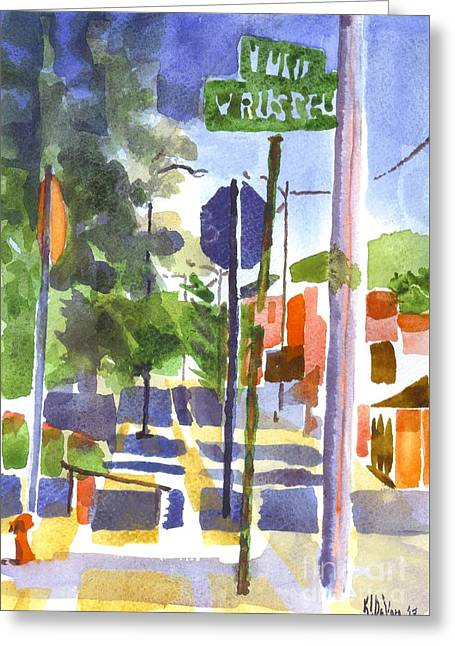 Sign Posts Greeting Card by Kip DeVore