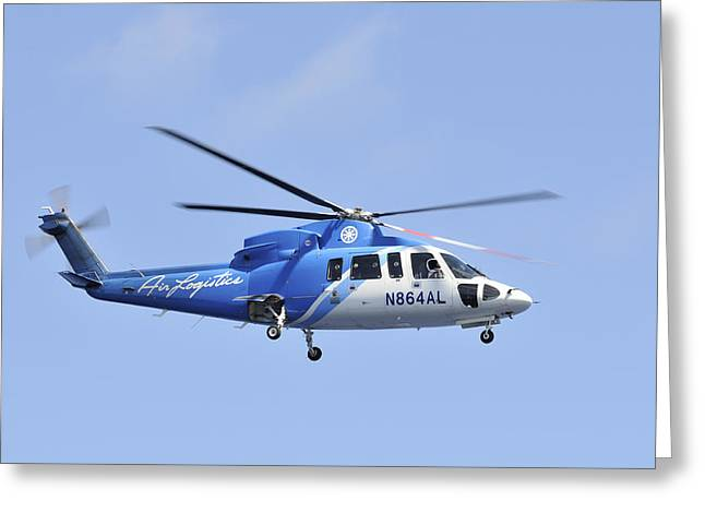 Sikorsky S-76c Greeting Card