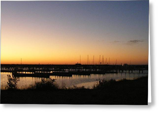 Silent Harbor Greeting Card