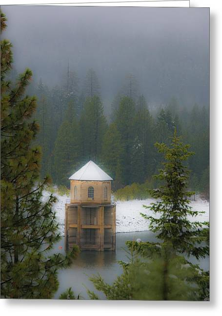 Silent Tower Greeting Card