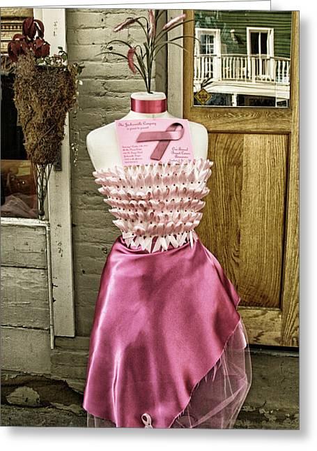 Silk Dress Greeting Card