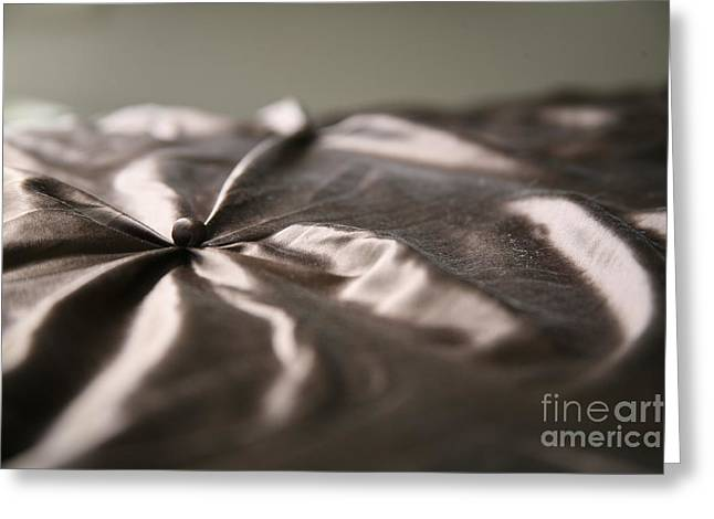 Silk Greeting Card by Lynn England