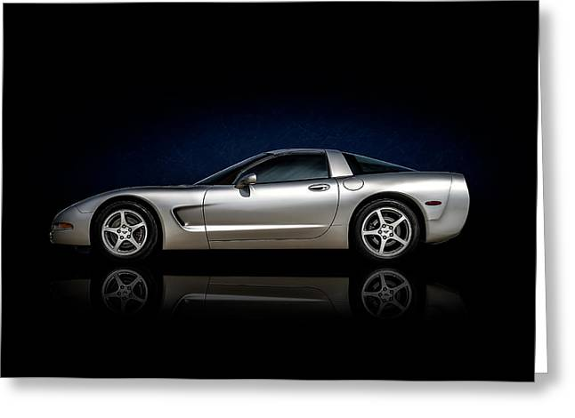 Silver C5 Greeting Card by Douglas Pittman