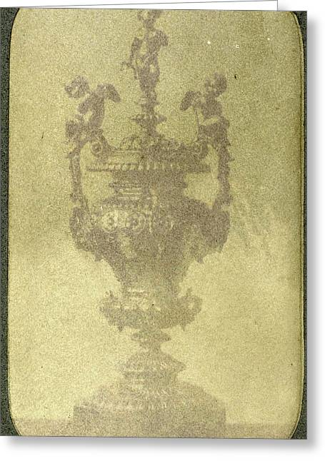 Silver Ceremonial Goblet, Eduard Isaac Asser Greeting Card by Artokoloro