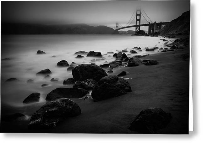 Silver Gate Greeting Card by Dayne Reast