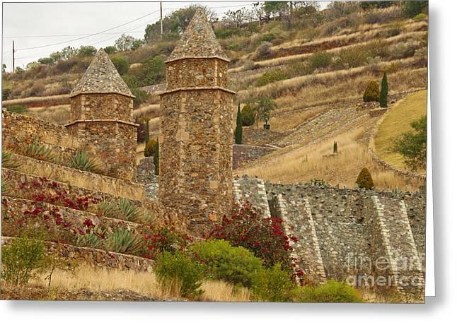 Silver Mine La Valencia, Guanajuato Greeting Card