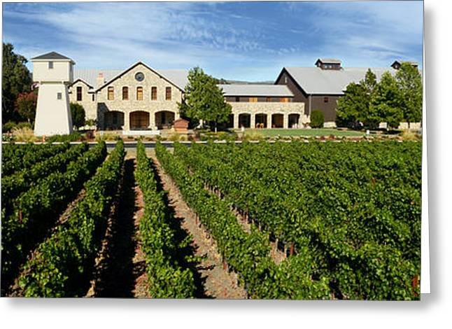 Silver Oak Cellars Greeting Card