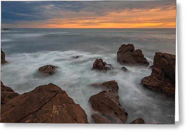 Silverlight-cambria Greeting Card by Tim Bryan