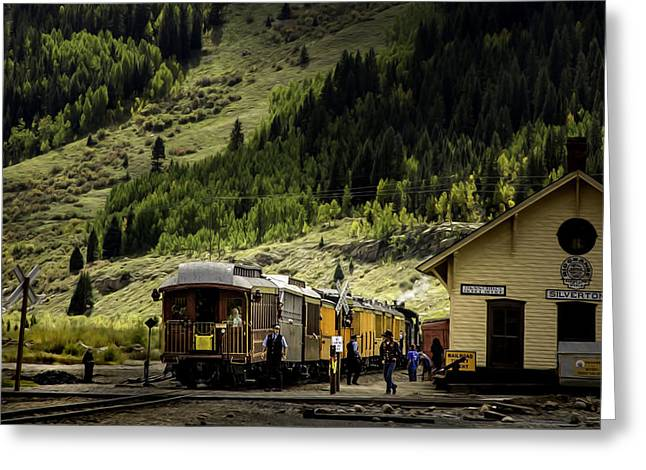 Silverton Station Greeting Card