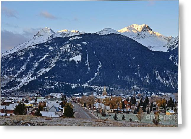 Silverton's Mountain Majesty Greeting Card