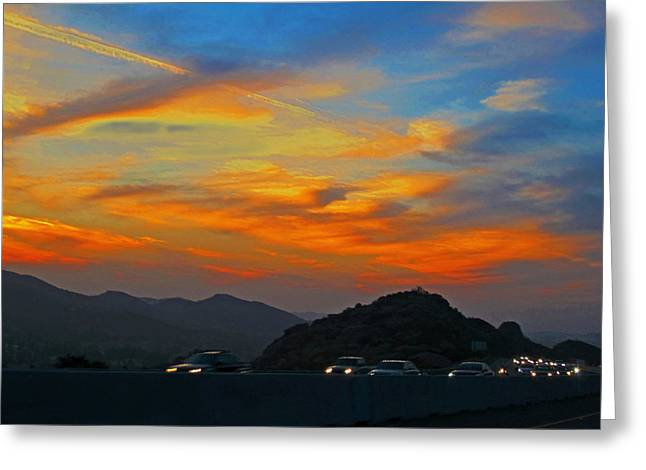 Simi Valley Outbound 1 Greeting Card