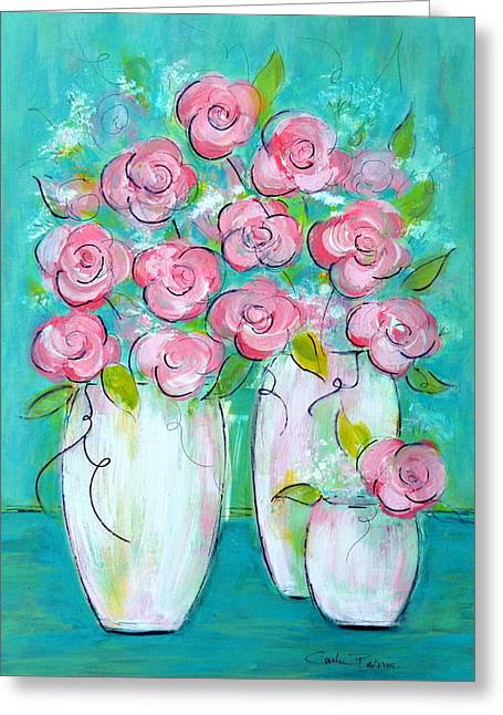 Simple Elegance Greeting Card by Carla Parris