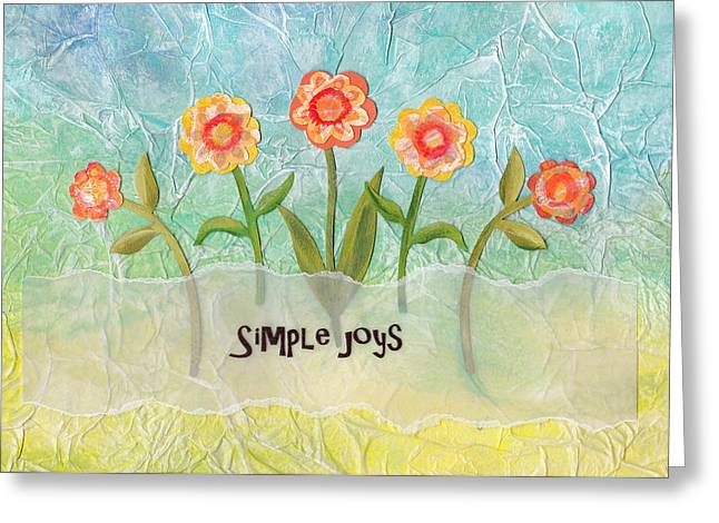 Simple Joys Greeting Card by Carla Parris