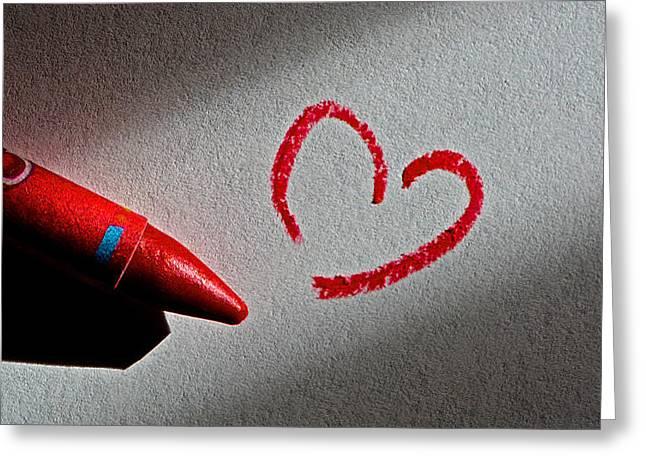 Simple Love Greeting Card by Bill Owen