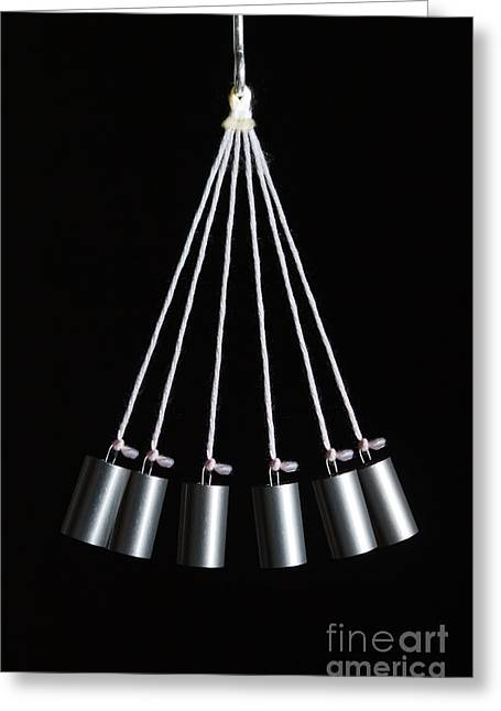 Simple Pendulum Greeting Card by GIPhotoStock