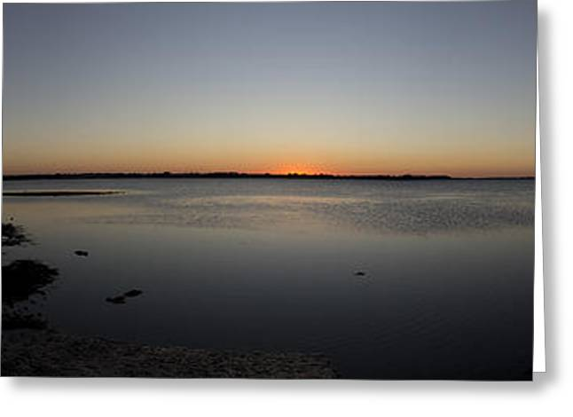 Simple Sunset Greeting Card by Michael James