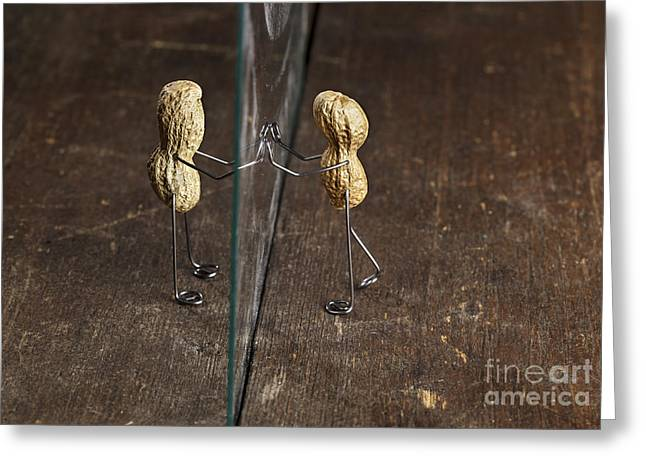 Simple Things - Apart Greeting Card by Nailia Schwarz