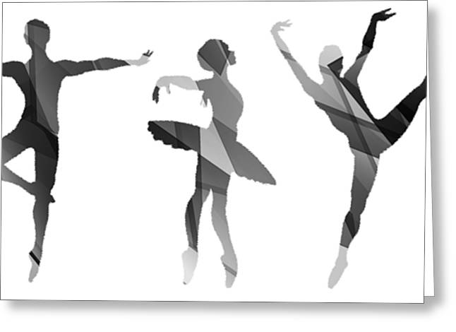 Simply Dancing 4 Greeting Card